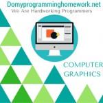 DO MY COMPUTER GRAPHICS HOMEWORK