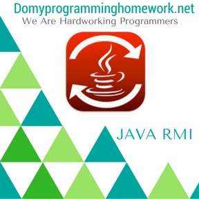DO MY JAVA RMI HOMEWORK