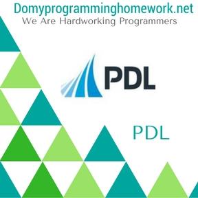DO MY PDL HOMEWORK