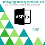 Do My ASP Homework