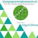 Do My Algorithms Homwork