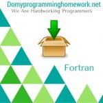 Do My Fortran Homework