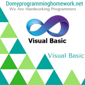 Do My Visual Basic Homework